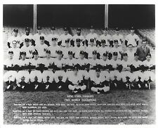 1962 NEW YORK YANKEES 8X10 TEAM PHOTO BASEBALL MLB PICTURE NY WORLD CHAMPS