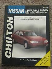 Chilton Repair Manual Nissan Sentra Pulsar NX 1982-96 # 52700