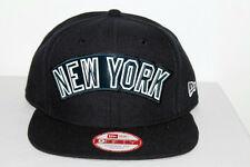 efdbef8ace9 Official New Era 9FIFTY NY YANKEE NAVY LIFTED LOGO SNAPBACK HAT
