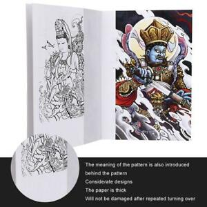66 Pages Tattoo Practice Template Book Exquisite Pattern Tattoo Book Accessory