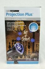 LightShow Projection Light Whirl-a-motion Holiday Decor Christmas Let it Snow!