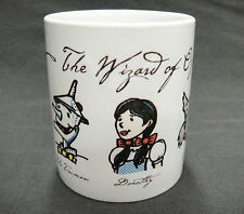 Wizard of Oz Resort Mug w Images of Scarecrow Tinman Dorothy Toto Lion
