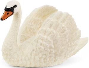 Schleich White Feathers Swan Toy Farm World Zoo Animal Figure NEW 6CM 13921