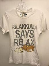 NWT Rilakkuma Says Relax T-Shirt