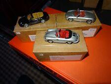 Minichamps 1:43 Metal Models Collection of 3 x Porsche Classics in Custom Boxes