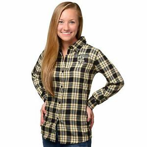 Forever Collectibles NFL Women's New Orleans Saints Check Flannel Shirt