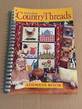 Australian Country Threads Address Book