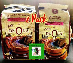 (2 Pack)🌞AUTHENTIC MEXICAN COFFEE-CAFE DE OLLA /CINNAMON /PILONCILLO 15.2 oz🌞