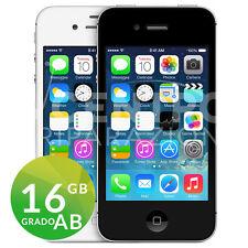 APPLE IPHONE 4S 16GB BIANCO O NERO iOS ACCESSORI GARANZIA SPEDIZIONE GRATUITA