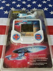 STAR TREK Next Generation Tiger Electronics 1993 Sealed Hand Held LCD Video Game
