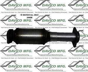 Catalytic Converter-Exact-Fit Rear Davico Exc CA 14408