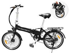 Folding Ebike Electric Bike 36V 9Ah 250W Motor Pedal Assist Shimano Gear Pas ...