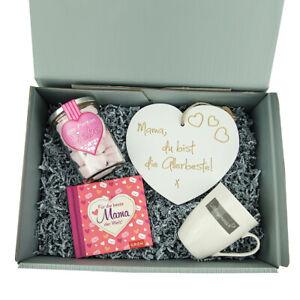 Muttertagsgeschenk 'Mama' Geburtstag  Präsent Korb Box Geschenk