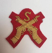 Snipers Sleeve Badge Mess Dress Army Red