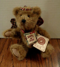 """Boyds Bears 8"""" plush from Tj's Best Dressed - Rascal"""