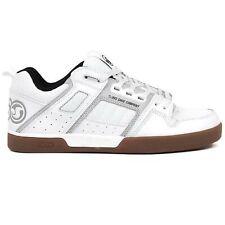 DVS Comanche 2.0+ Trainers Shoes White Grey Gum Nubuck UK 13 | US 14 | EU 49.5