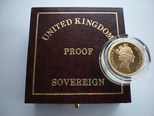Royal Mint UK GOLD PROOF SOVEREIGN 1979 to 2020 - Choose your year