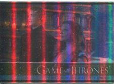 Game Of Thrones Season 3 Foil Parallel Base Card  10 And Now His Watch Is Ended