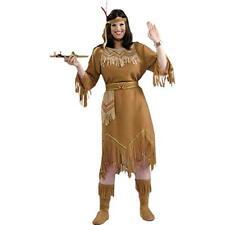 Forum Native American Maid Womens Costume SZ Plus Size Squaw Pocohantas Western