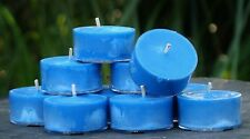 10pk 120hr/pack PEPPERMINT EUCALYPTUS Sinus Relief Scented SOY TEA LIGHT CANDLES