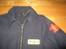 1979 BUDWEISER MICHELOB Wholesaler Zippered SILVER EAGLE (Size 42) Jacket
