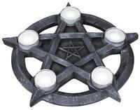 Pentagram Tealight Holder Tea Light Candle Holder Wicca Mystic Pagan Spirits
