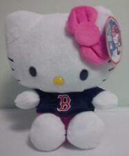MLB SANRIO HELLO KITTY BOSTON RED SOX B EIGHT INCH PLUSH TOY