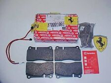 Ferrari 360 Challenge Rear Brake Pads_Sensor Wires_Retainer Springs_70001081_OEM