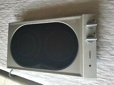 New listing Gaggenau Modular Electric 2 Burner Cooktop Vc230612 - New Display Model