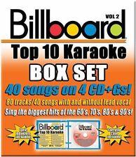 Various Artists, Bil - Billboard Top 10 Karaoke 2 [New CD] B