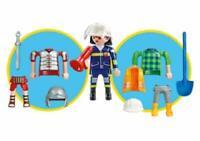 Playmobil 6566 3 in 1 Multiplay Figure - Fireman, Roman, Farmer Brand New