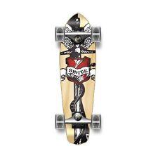 SMITE Heart Complete Longboard MICRO Cruiser skateboard