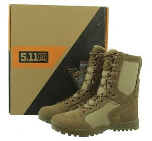 5.11 Tactical Men's Boots Recon Desert 2.0 Mid-Calf Lace-up Suede Leather Nylon