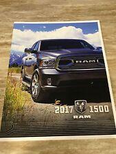 2017 Dodge RAM 1500 70-page Original Sales Brochure