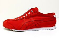 Asics Onitsuka Tiger Mexico 66 Shoes Size Men's 8 Women's 9.5 Red D3K0N Laceless