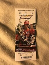 Dario Franchitti (2012 Winner) Signed Indianapolis Indy 500 Ticket 2013 Race