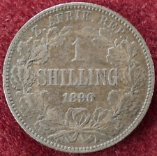 South Africa Shilling 1896 (D1204)