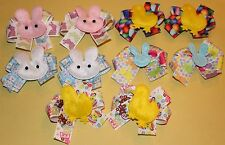 10 Large Decorated Easter Dog Bows Dog Grooming Bows Child Bows Pet Bows USA NEW