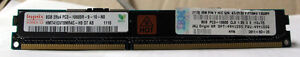 HYNIX IBM 8GB PC3-10600R Server Memory  IBM Certified Module HMT41GV7BMR4C