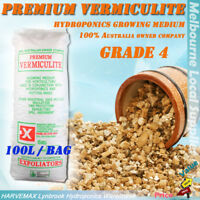 Grade 4 Vermiculite Quality Plant Growing Media 100L Hydroponics Grow Medium