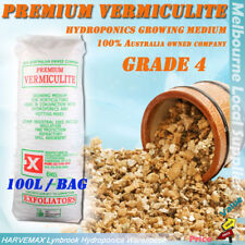 Grade 4 Vermiculite Quality Plant Growing Media 100L Hydroponics Grow Medium