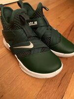 Nike Lebron Soldier XII 12 TB Promo Green Silver Men Basketball AT3872 Size 4.5