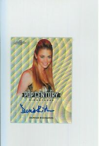 *MINT* Denise Richards Auto 2019 JAMES BOND Pop Century Autograph  Wild Things