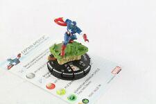 Heroclix Marvel 10th aniversario Capitán América 023 Super Raro Chase
