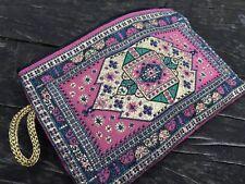 Moneda De Color Rosa Bolsa de almacenamiento con cremallera Bohemio Gypsy, cartera,! envío Gratuito!