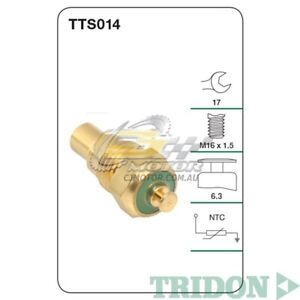 TRIDON WATER TEMP FOR Holden Rodeo 12/01-01/03 3.0L(4JH1T) OHV 8V(Diesel)