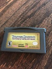 Pirates Of The Caribbean Curse Of The Black Pearl Nintendo Gameboy Advance GBA