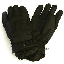 Men's Winter Thinsulate 3M Waterproof Hook&Loop Ski Wrist Cover Gloves Navy M/L