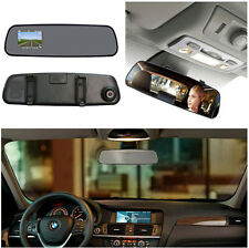 "NEW 2.4"" HD Night Vision Car DVR Rearview mirror Camera Video Recorder Dash Cam"