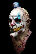 BRAND NEW Psycho Zombie Clown Serial Killer DELUXE ADULT LATEX MIME ZACK MASK